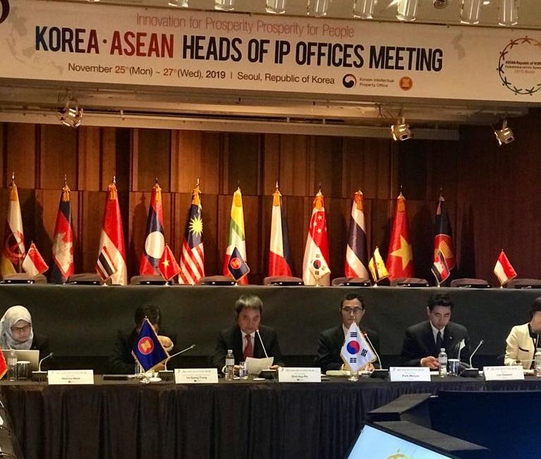 Cục trưởng Đinh Hữu Phí phát biểu khai mạc Cuộc họp lần thứ 2 Lãnh đạo Cơ quan Sở hữu trí tuệ các nước ASEAN – Hàn Quốc